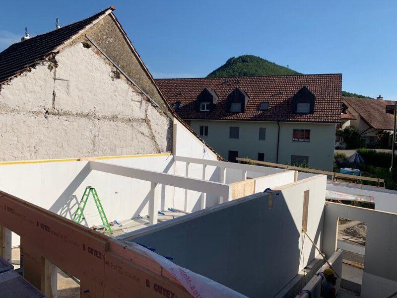 Abbruch Bauernhaus Gipf-Oberfrick